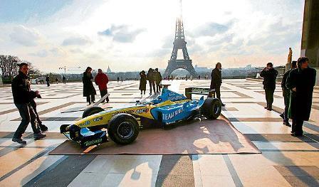 Falta dinero para llevar la Fórmula 1 a París