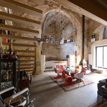Una iglesia renacentista abandonada, reconvertida en una espectacular vivienda
