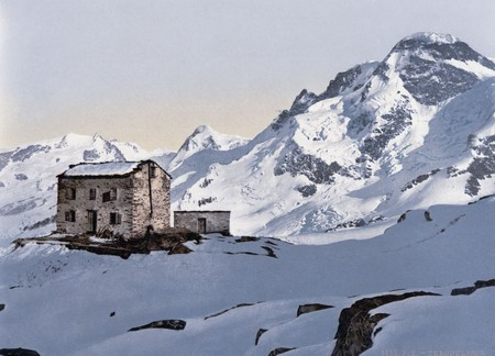 A Club Cottage At Theodulpass Valais