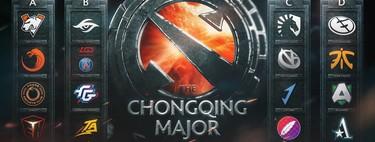 Anunciados los grupos para el Major de Chongqing de Dota 2