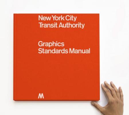 No sé vosotros, pero yo quiero una copia del Manual de Estándares Gráficos del metro de Nueva York