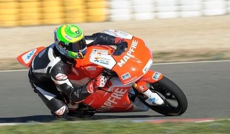 Eric Granado correrá con el Mapfre Aspar Team en Moto3, y ya se ha estrenado con ellos