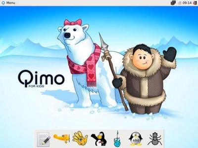 Qimo, una distribución GNU/Linux para niños