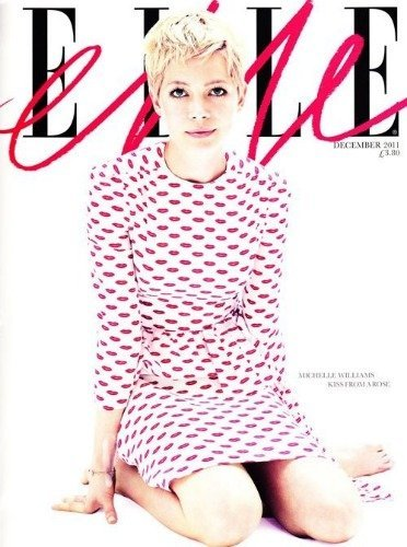 Michelle Williams, de lo más chic en la portada de Elle UK