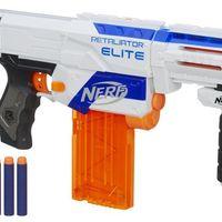 Por sólo 35 euros puedes hacerte con el lanzadardos Nerf  Elite Retaliator en Amazon con envío gratis