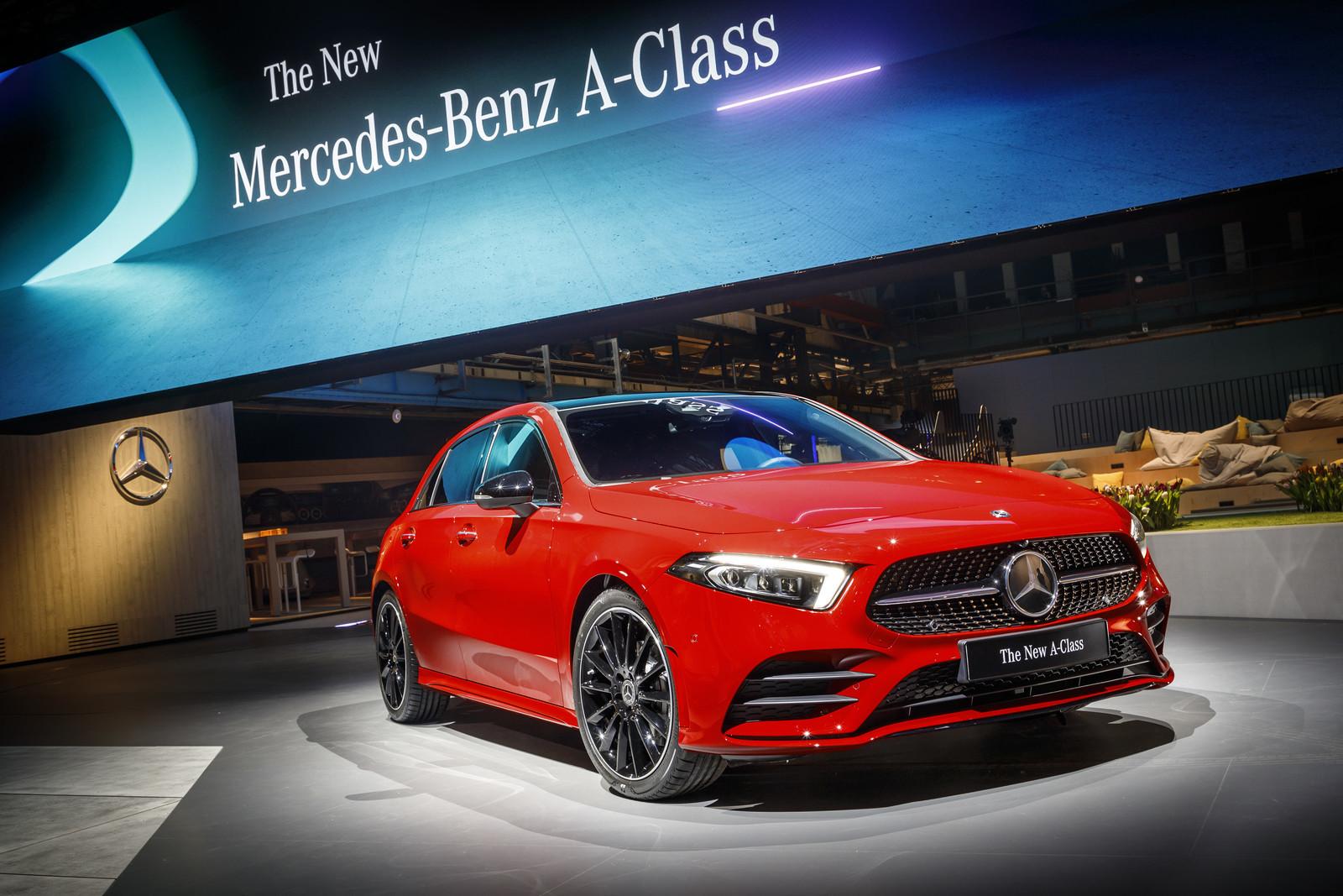 Mercedes-Benz Clase A 2018 - presentación