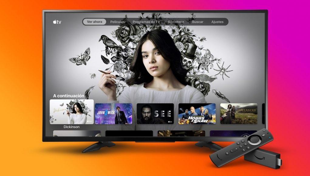 La apps Apple™ TV ya está libre para los Fire TV Stick de Amazon