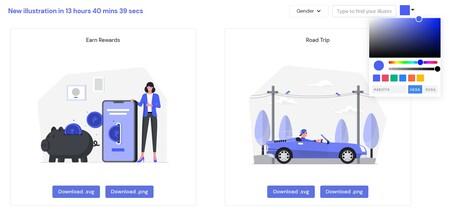 Descarga más de 100 ilustraciones de alta calidad gratis, personalizables y sin necesidad de atribución para usar en tus proyectos