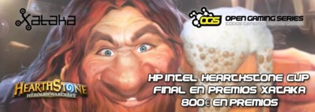 El HP Omen y la final de la HearthStone Cup con 800 euros en premios estarán en los Premios Xataka 2014