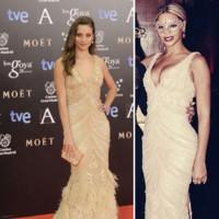 Michelle Jenner vs Beyoncé clon Goya 2014