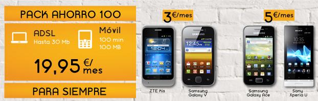 Jazztel refuerza su oferta convergente con más smartphones con pago a plazos