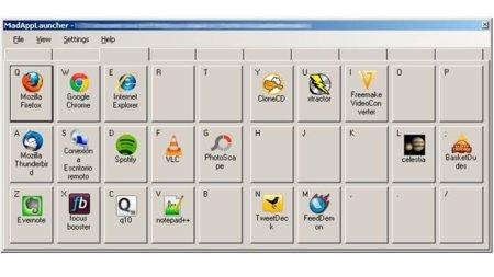 MadAppLauncher un lanzador poco atractivo pero útil para Windows