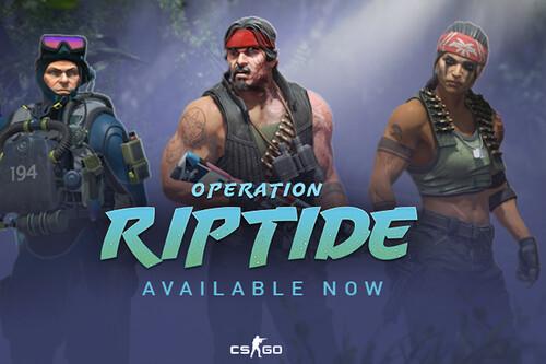 Operation Riptide es la nueva actualización de CS:GO y viene cargada de contenido: mapas, colas privadas, retos y más