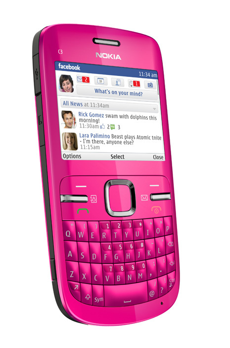 Foto de Nokia C3 (3/4)