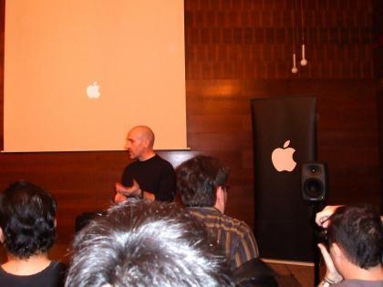 Presentación oficial a la prensa hoy en Madrid de Leopard