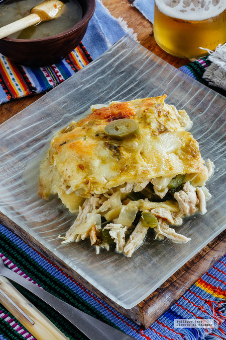 Pastel azteca. Receta mexicana fácil