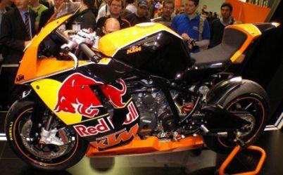 KTM participará en el Mundial de Superstock 2008 con la RC8