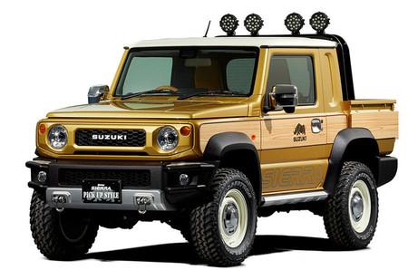 ¡Suzuki presentará dos nuevas variantes de su modelo Jimny, incluyendo una pick-up!