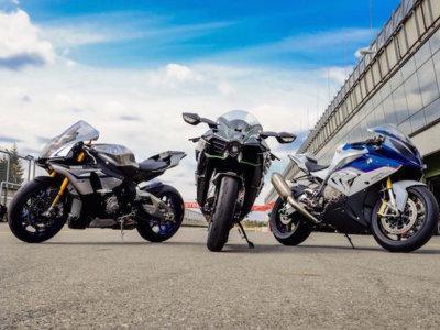Comparativa de sonido: Kawasaki H2 vs. Yamaha YZF-R1M vs. BMW S 1000 RR