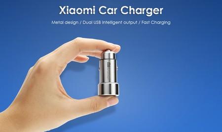 Oferta Flash: cargador de coche Xiaomi, con dos puertos USB, por sólo 6,79 euros y envío gratis