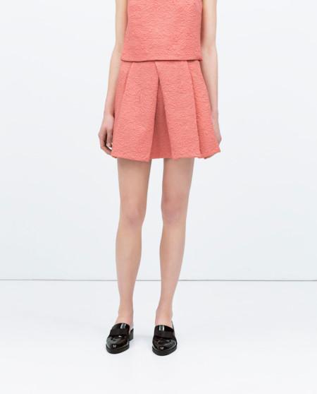 Mini-falda de Zara