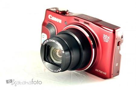 Canon Powershot SX700 HS, análisis