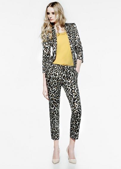 traje leopardo