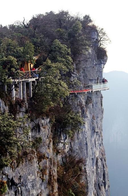 Pasarela Camino Fe Suelo Cristal China