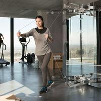 """Así son las máquinas de gym para tener en el salón, que están conectadas y que se compran en una """"boutique"""""""