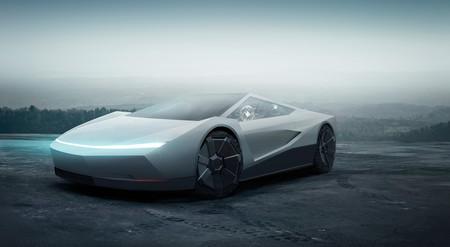 Las formas de la Tesla Cybertruck le sientan mejor a un deportivo y este 'render' es la prueba