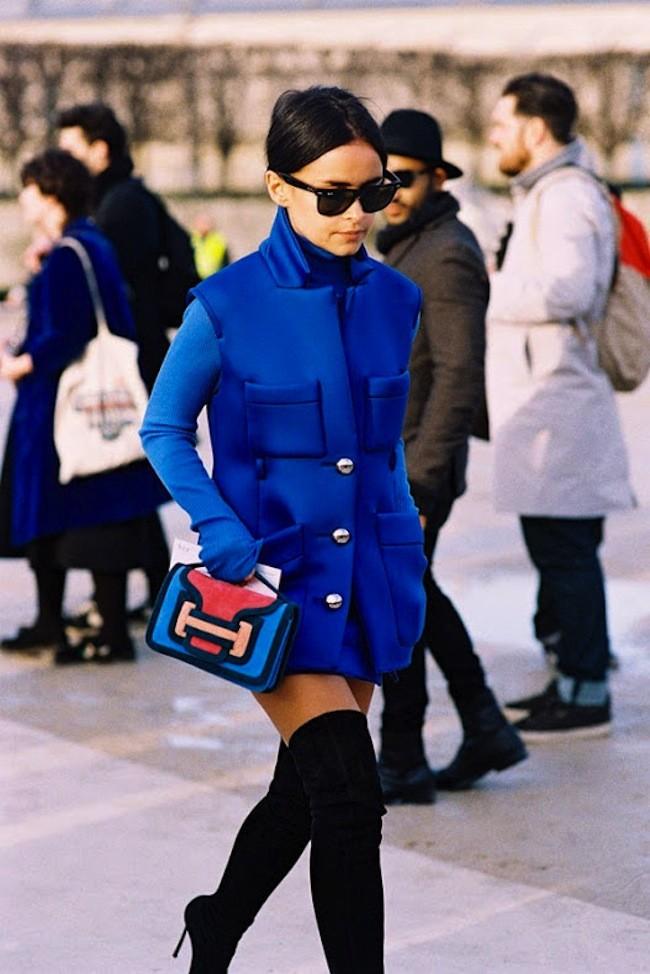Miroslava Duma Fashion Week Look 6