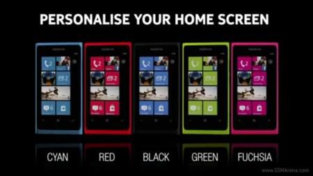 Llegan dos nuevos colores para el Nokia Lumia 800