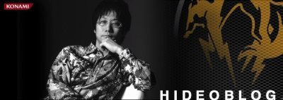 Hideo Kojima tiene weblog