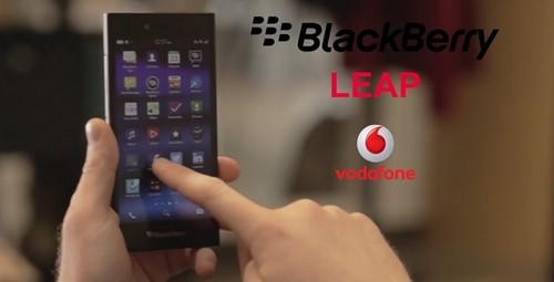BlackBerry Leap llega a Vodafone desde 192 euros