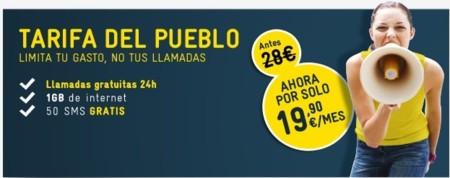 MÁSMÓV!L baja promocionalmente su tarifa con llamadas ilimitadas a 19.90 euros al mes
