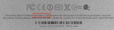 iMac montado en los EE.UU.