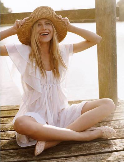 El estilo más romántico de la primavera 2010 está en H&M: consigue los looks de Dree Hemingway
