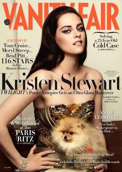 La versión más glam de Kristen Stewart, por Vanity Fair