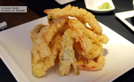 Restaurante Japonés Enso Sushi en Murcia. Tempura