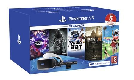 Disfrutar de la realidad virtual en PS4 sólo te cuesta 189,90 euros ahora, en AliExpress Plaza con el cupón ALIMOLA30 y el Playstation VR Megapack 2