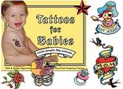Tatuajes para bebés