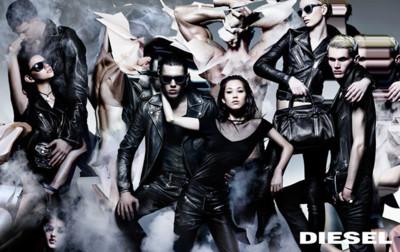 La artística campaña de Diesel Pre-Fall 2014