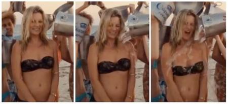 Kate Moss y su #IceBucketChallenge, esto no hay quien lo pare