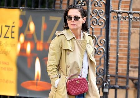 Katie Holmes no necesita tendencias para inspirarnos: su look clásico y minimalista se encarga de ello