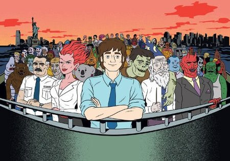 'Ugly Americans' de monstruitos en Manhattan
