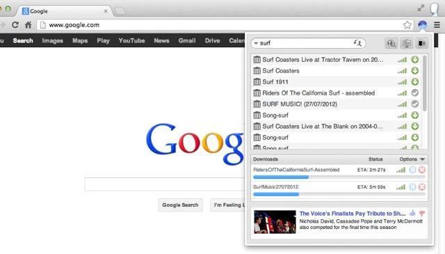 BitTorrent Surf para Chrome