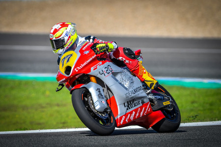 Dominique Aegerter Test Jerez Moto2