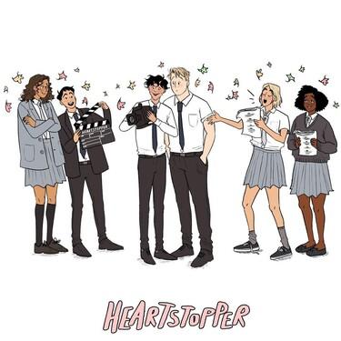 El fenómeno del momento es Heartstopper: los libros más adictivos hablan del amor entre dos chicos y tendrán una serie en Netflix