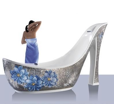 Sicis, la bañera italiana de mosaico más extravagante