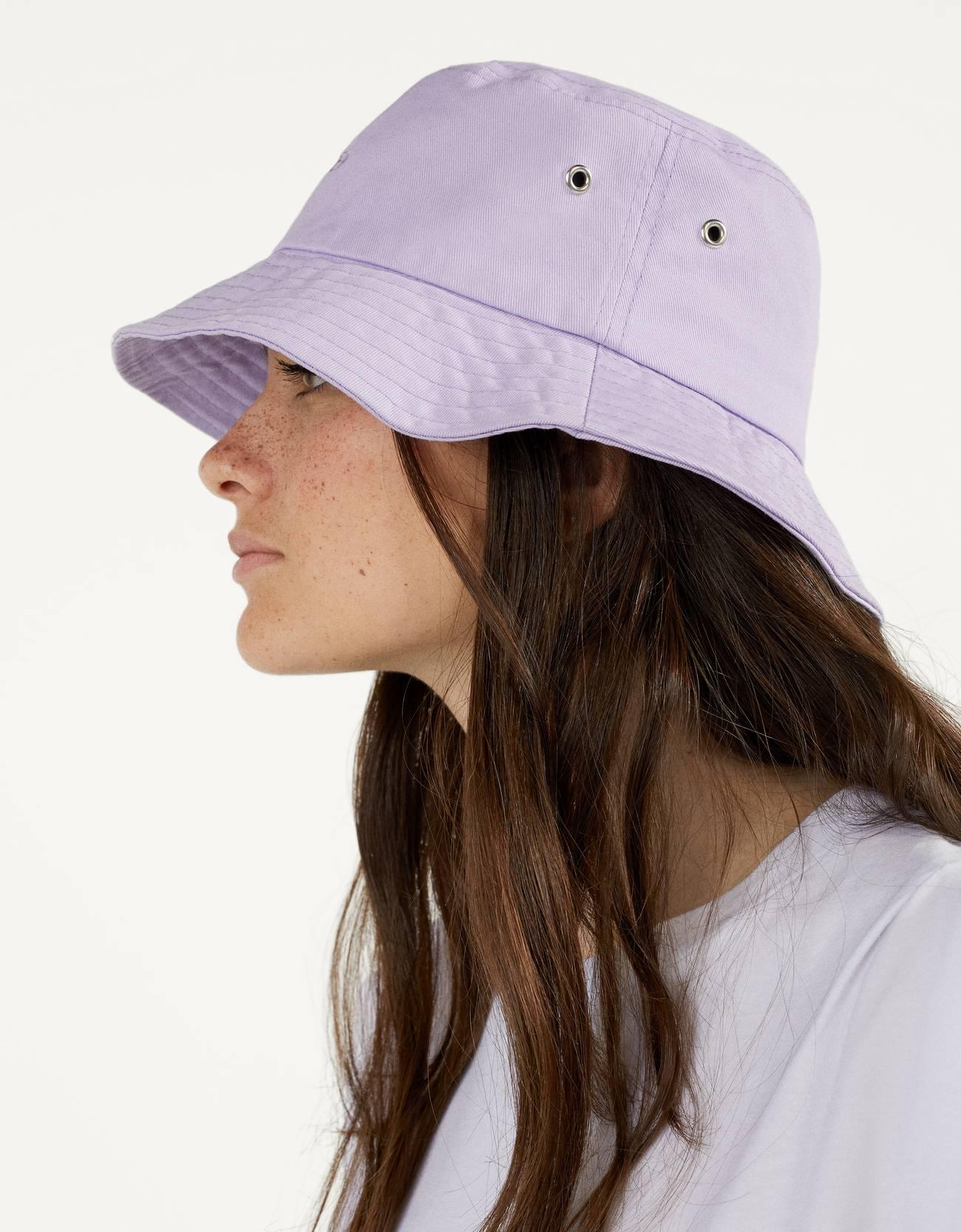 Sombrero bucket lila